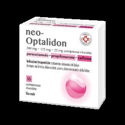 NEO OPTALIDON*16 cpr riv 200 mg + 125 mg + 25 mg