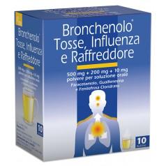 BRONCHENOLO TOSSE INFLUENZA E RAFFREDDORE*orale polvere 10 buste