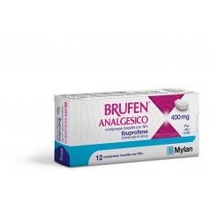 BRUFEN ANALGESICO*12 cpr riv 400 mg
