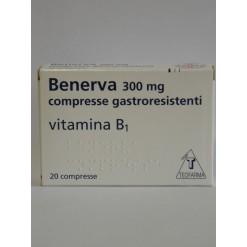 BENERVA*20 cpr gastrores 300 mg