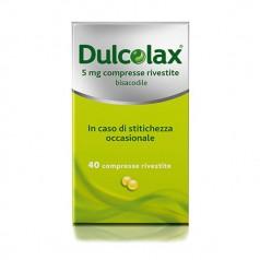 DULCOLAX*40 cpr riv 5 mg
