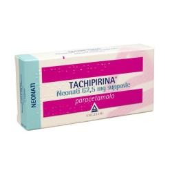 TACHIPIRINA*NEONATI 10 supposte 62,5 mg