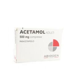 ACETAMOL*AD 20 cpr 500 mg