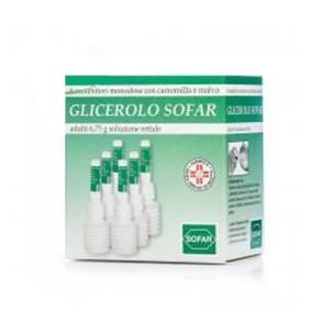 GLICEROLO (SOFAR)*AD 6 contenitori monodose 6,75 g soluz rett con camomilla e malva