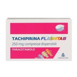 TACHIPIRINA FLASHTAB*12 compresse dispersibili 250 mg