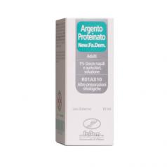 ARGENTO PROTEINATO (NEW.FA.DEM.)*AD gtt orl 10 ml 1%