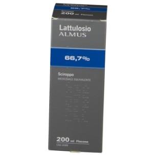 LATTULOSIO (ALMUS)*sciroppo 200 ml 66,7% flacone