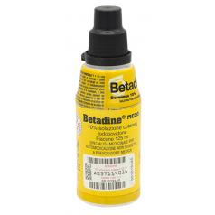 BETADINE*soluzione cutanea 125 ml 10%