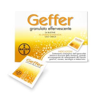 GEFFER*orale granulato effervescente 24 bustine 5 g