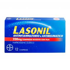 LASONIL ANTINFIAMMATORIO E ANTIREUMATICO*12 cpr riv 220 mg