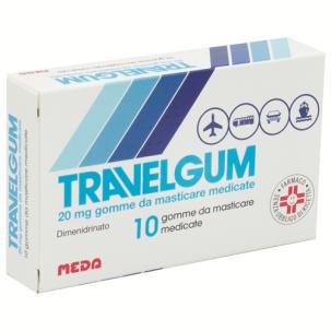 TRAVELGUM*10 gomme masticabili 20 mg
