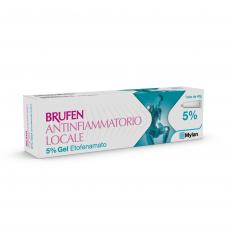 BRUFEN ANTINFIAMMATORIO LOCALE*gel 40 g 5%